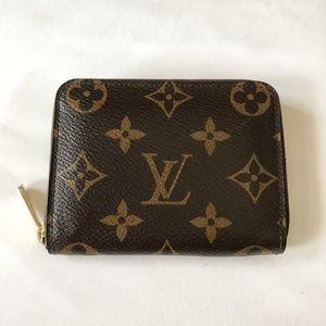 Louis Vuitton Bags - Louis Vuitton Monogram Zippy Coin Purse Wallet